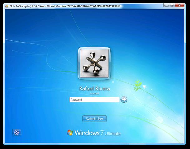 how to change login screen windows 7 software