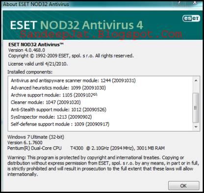 eset nod32 4 64 bit free download